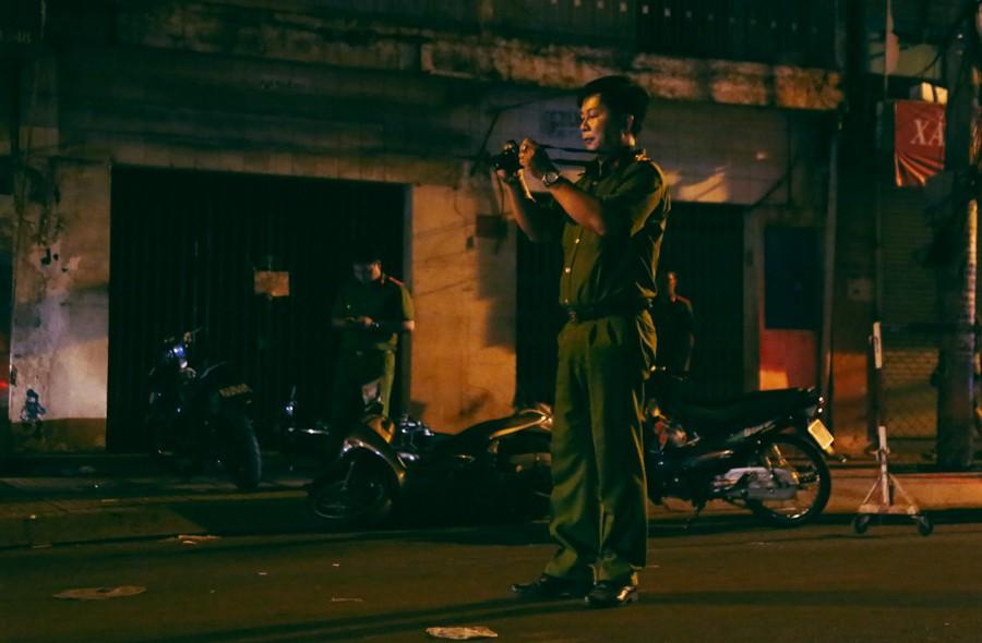 Hiện trường vụ án mạng kinh hoàng trên đường CMT8 khiến 6 hiệp sĩ đường phố bị băng cướp đâm thương vong 7