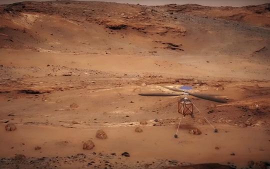 NASA sắp đưa trực thăng lên Sao Hỏa 1
