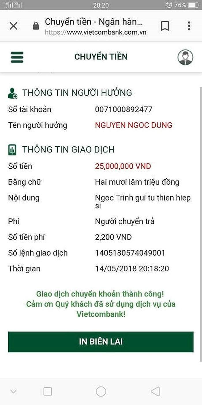 Quyền Linh và loạt sao Việt thắp hương cho 2 hiệp sĩ tử nạn, Ngọc Trinh chuyển ngay số tiền  ủng hộ 1
