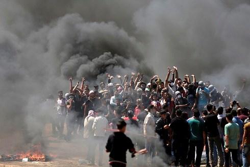 Ngày tang thương của Palestine: 58 người chết, 2.711 người bị thương 1