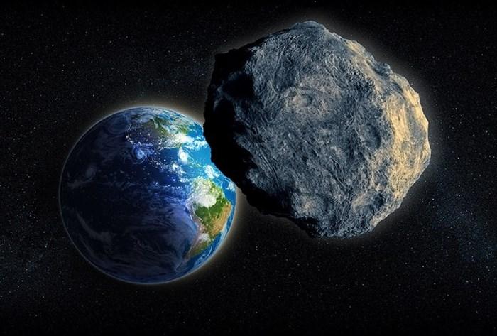 Hình ảnh NASA: Thiên thạch kích cỡ khổng lồ bay sượt qua Trái Đất số 1
