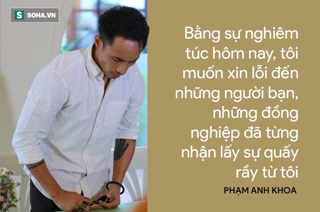 Cái cúi đầu của Phạm Anh Khoa và nỗi đau của người bố không bảo vệ được con mình! 2