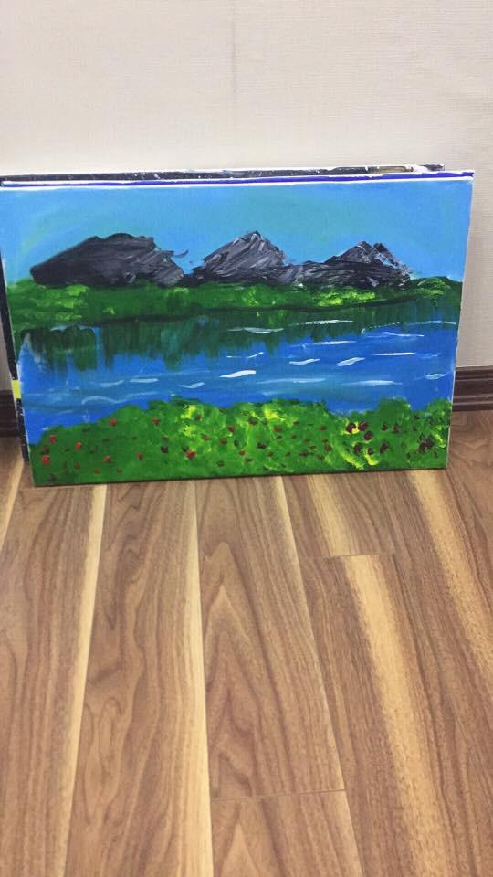Em bé 5 tuổi và những bức vẽ khiến người lớn phải cùng thốt lên một lời cảm thán - Ảnh 2.