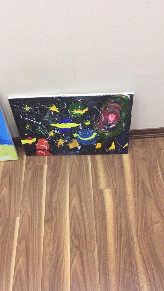 Em bé 5 tuổi và những bức vẽ khiến người lớn phải cùng thốt lên một lời cảm thán - Ảnh 6.