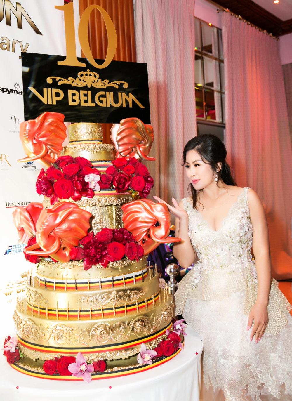 Cindy Mai Anh Trần, Á hậu Trương Thị May đọ sắc tại dạ tiệc Cannes 6
