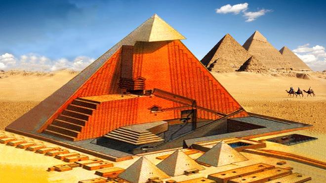 Sự thật về Giza: Không phải ngẫu nhiên mà kim tự tháp có khối lượng, chu vi như vậy! 3