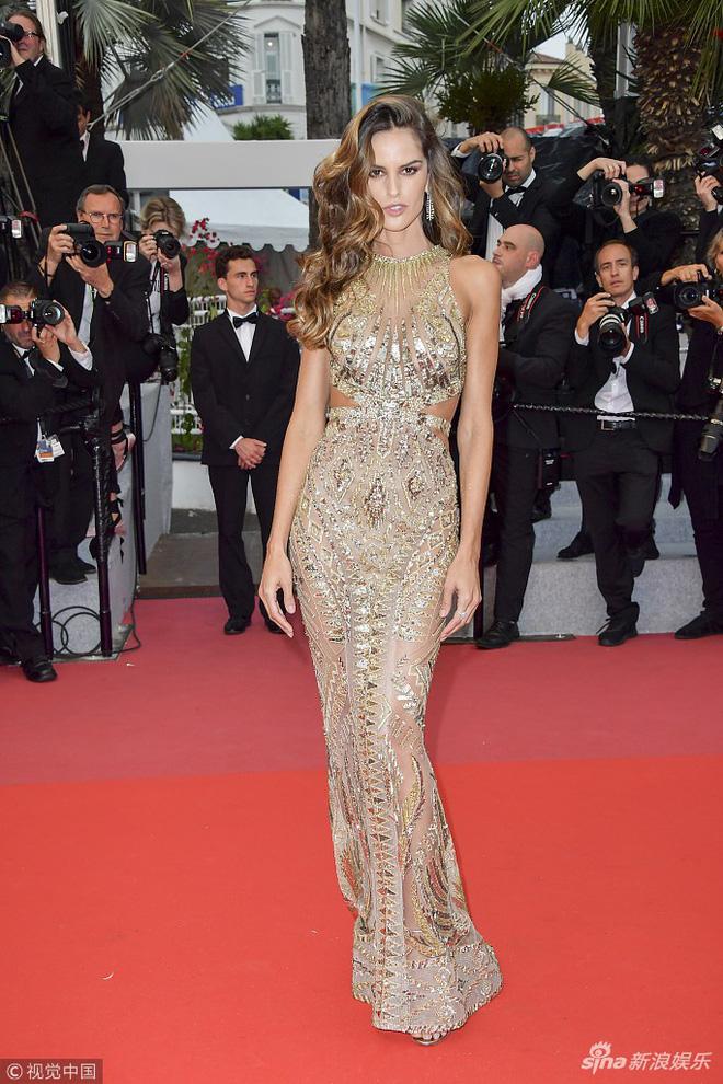 Thảm đỏ LHP Cannes: Huỳnh Hiểu Minh kém sắc, Yoo Ah In bảnh bao xuất hiện cùng dàn siêu mẫu xinh đẹp - Ảnh 16.
