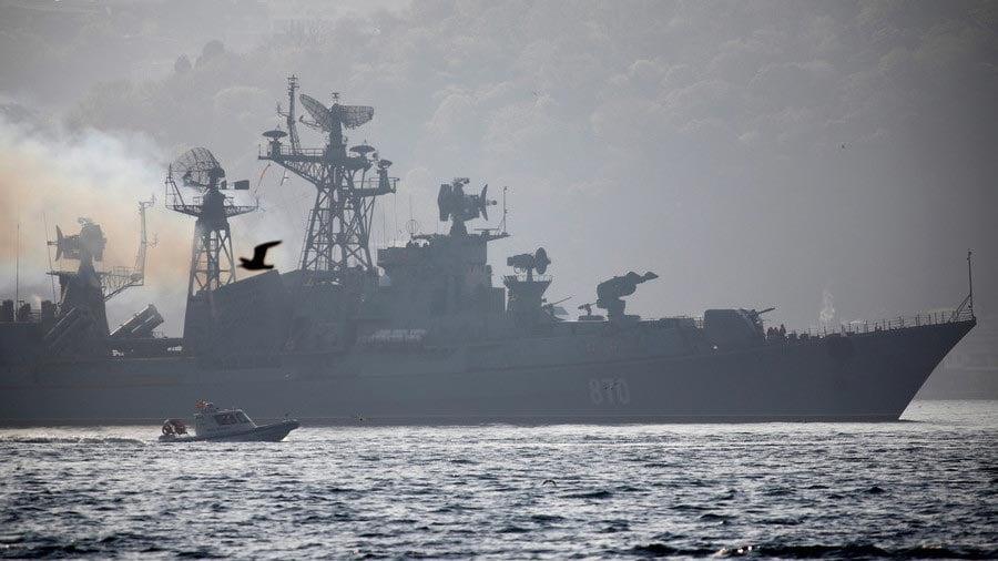 Hình ảnh Putin điều chiến hạm tên lửa áp sát, bảo vệ Syria số 1