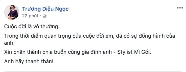 Đông Nhi, HHen Niê cùng loạt sao Việt sốc và bàng hoàng trước sự ra đi của stylist Mì Gói 5