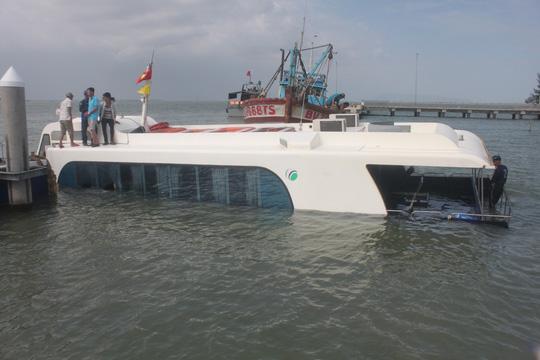 Công an thông tin mới về vụ chìm tàu cao tốc ở Cần Giờ 1