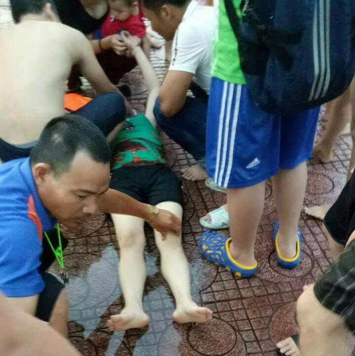 Người phụ nữ kể lại phút giây hãi hùng bị điện giật bất tỉnh khi đang tắm tại bể bơi 2