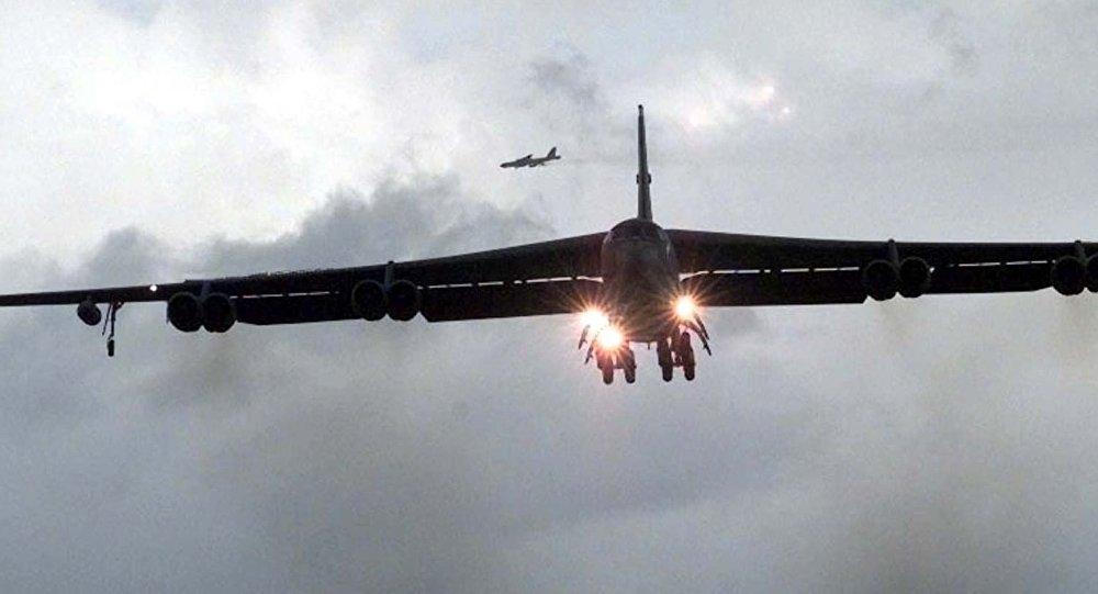 Máy bay B-52 Mỹ bất ngờ đổi hướng khi Triều Tiên dọa hủy cuộc gặp Mỹ-Triều 1