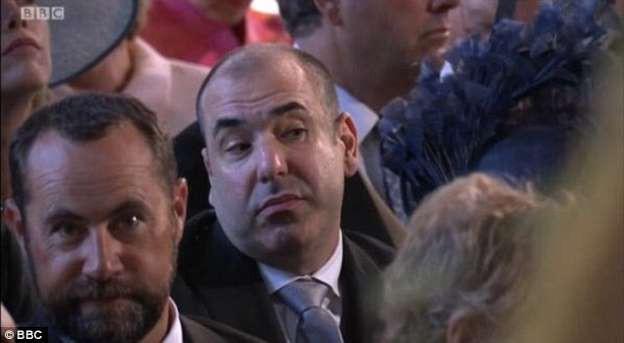 Bị soi thái độ tại đám cưới Hoàng gia Anh, nam diễn viên tố do khách ngồi cạnh hôi miệng 2