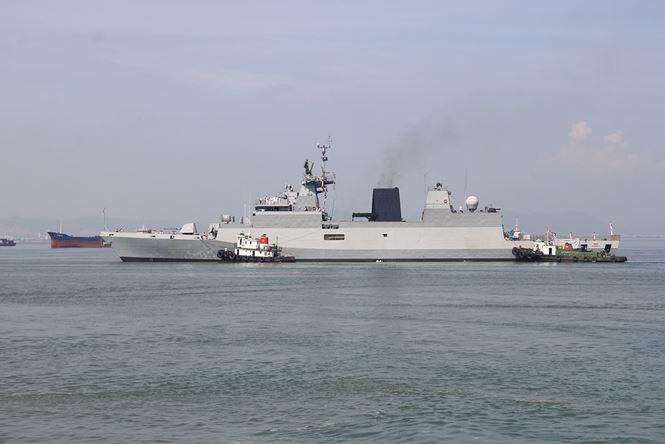 Ba tàu hải quân Ấn Độ cập cảng Đà Nẵng 2