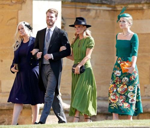 Cháu gái công nương Diana đẹp như tiên tại đám cưới hoàng gia 3