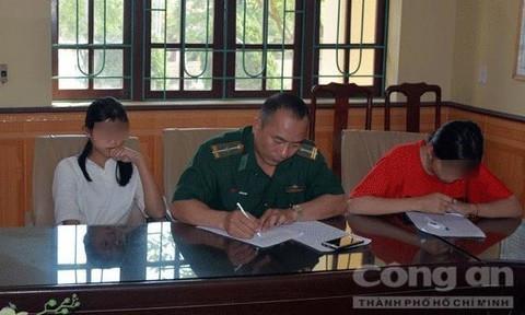 Giải cứu thành công 2 học sinh bị lừa bán qua biên giới nhờ mạng xã hội 2