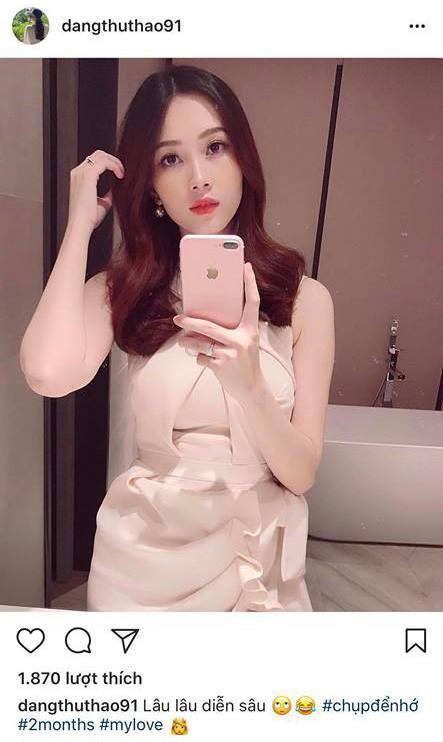 Cận cảnh nhan sắc 'vạn người mê' của Hoa hậu Đặng Thu Thảo sau 2 tháng sinh con 1