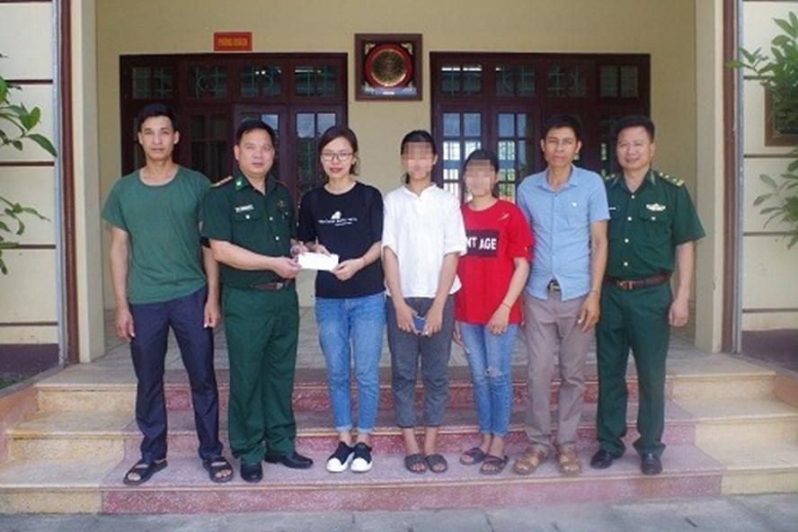 Giải cứu thành công 2 học sinh bị lừa bán qua biên giới nhờ mạng xã hội 1