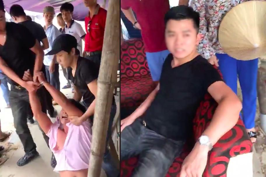 Xác minh clip người đàn ông gào khóc hoảng sợ khi bị nhóm thanh niên ở Hà Nội tự xưng công an lôi kéo bắt giữ 3
