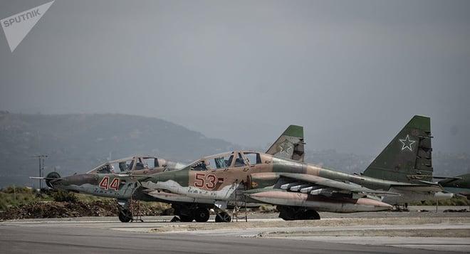 Phản đòn vụ tập kích Khmeimim, Hải quân Nga nã tên lửa hành trình diệt phiến quân Syria 2