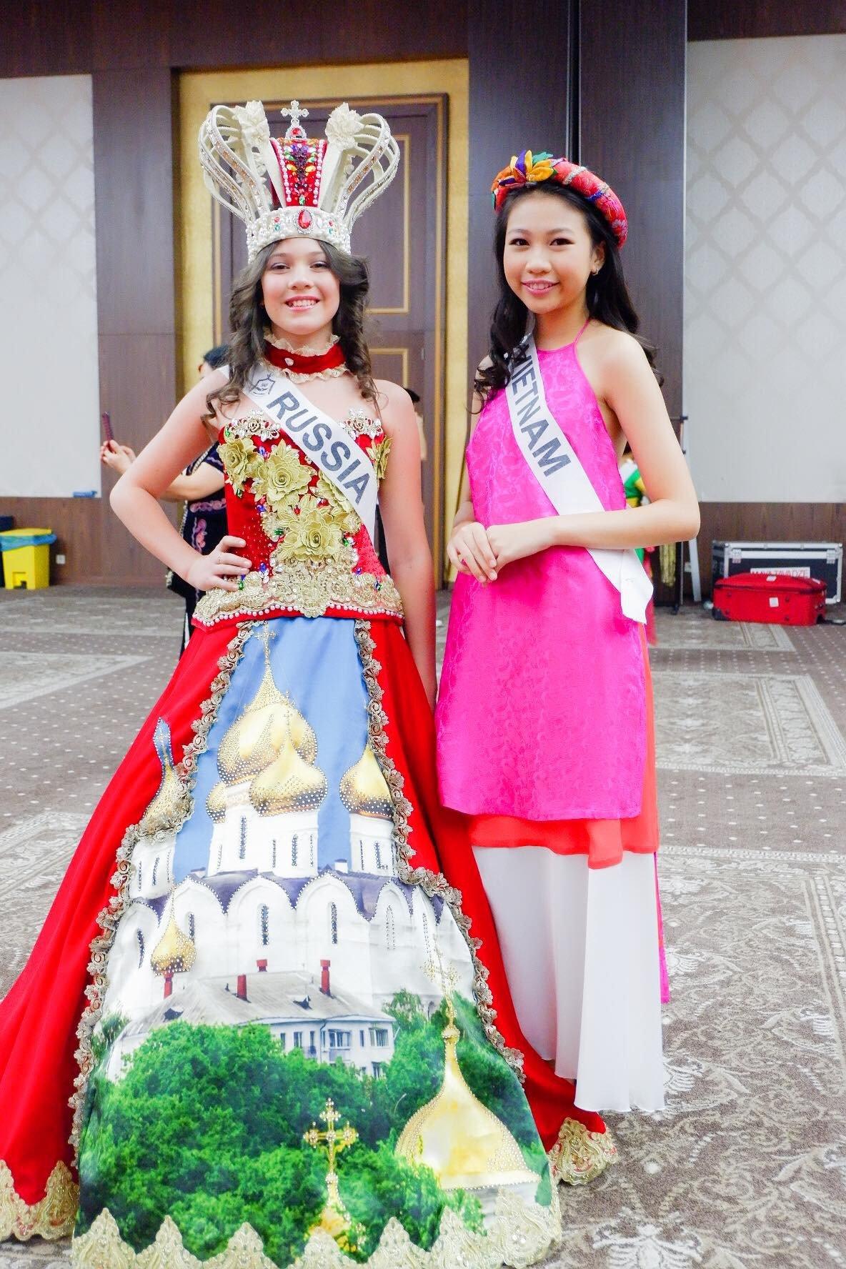 Mới 13 tuổi mà đã cao 1m72, cô bé Việt giành ngay ngôi vị Hoa hậu Hoàn vũ nhí 2018 - Ảnh 7.