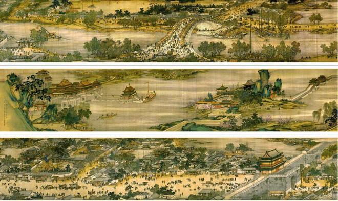Những họa tiết đắt giá trong bức tranh mệnh danh 'Mona Lisa của Trung Quốc' 2