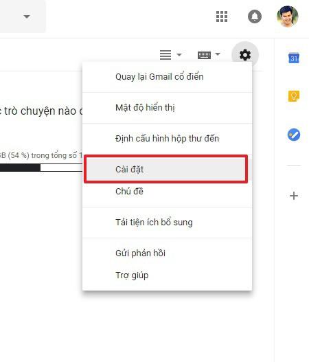 Hướng dẫn cách sử dụng Gmail không cần kết nối mạng 2