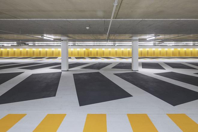 Tạp chí Mỹ ngợi ca bãi đỗ xe như một kiệt tác kiến trúc trong lòng thành phố 7