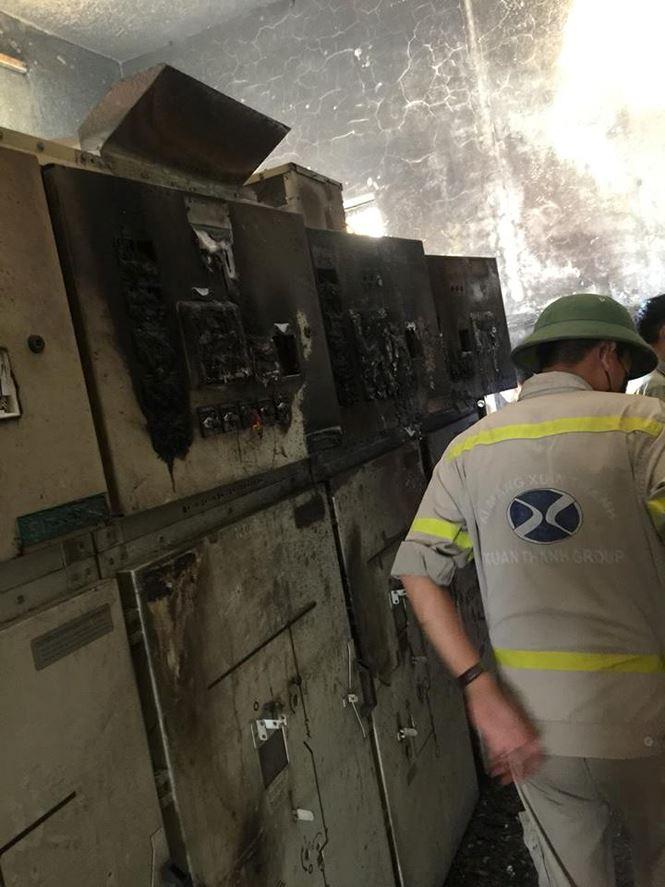Nổ như bom tại Nhà máy xi măng Xuân Thành 4