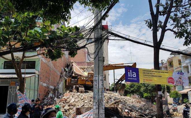 Sập nhà 2 tầng ở Sài Gòn, 3 người thương vong 1
