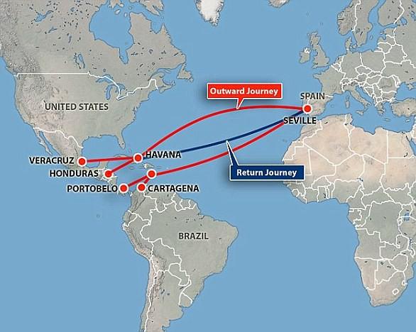 Bí ẩn con tàu mang tên chén Thánh: Kho báu 17 tỷ đôla lớn nhất dưới đáy biển - Ảnh 4.