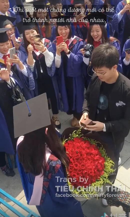 Những màn cầu hôn lãng mạn trong ngày lễ tốt nghiệp: Đời này không lấy ai khác ngoài em! 2