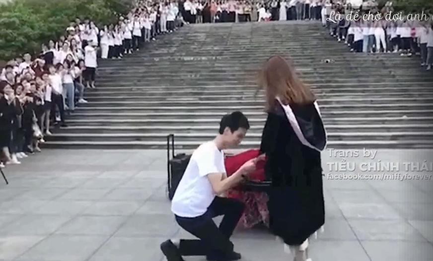 Những màn cầu hôn lãng mạn trong ngày lễ tốt nghiệp: Đời này không lấy ai khác ngoài em! 5