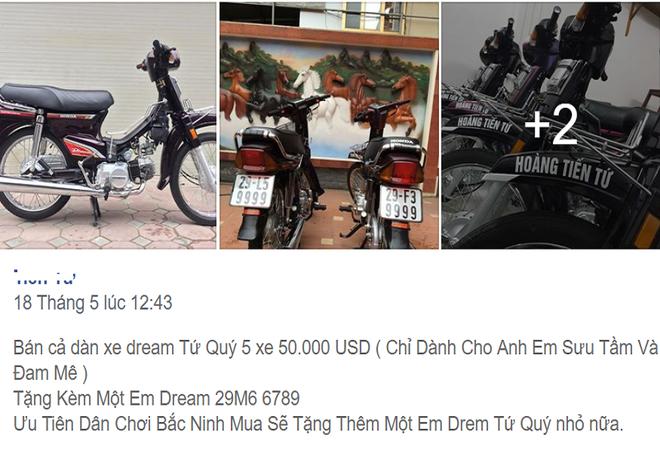Tiết lộ bất ngờ về dàn xe Honda Dream biển tứ quý vừa rao bán 1,13 tỷ đồng - Ảnh 2.