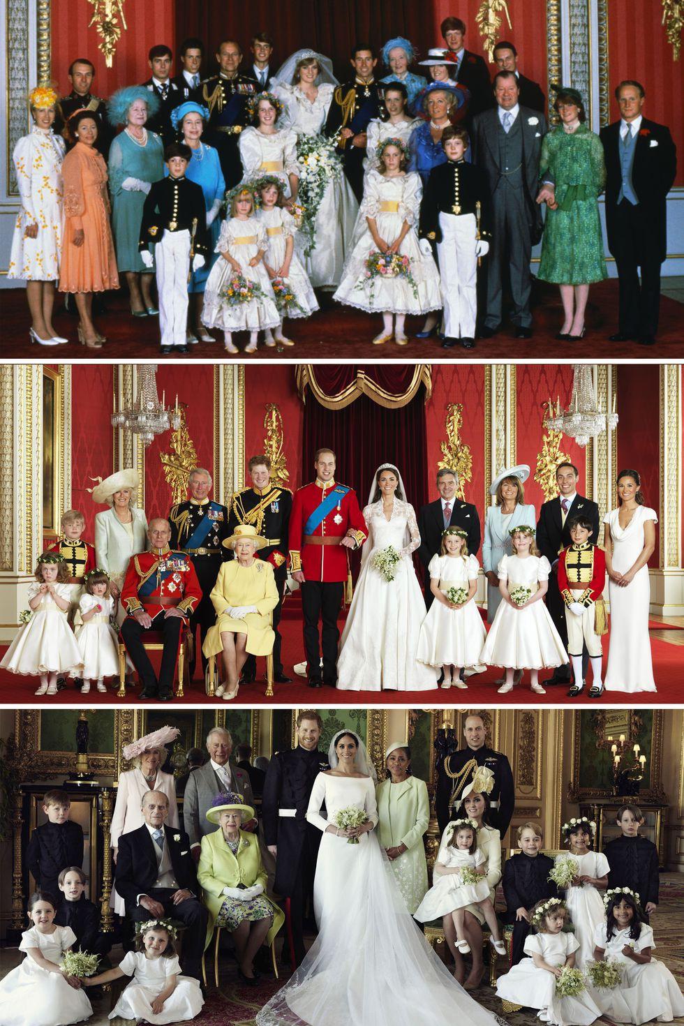 Đặt lên bàn cân 10 khoảnh khắc giữa ba đám cưới Hoàng gia: Công nương Diana vẫn được đánh giá là xinh đẹp nhất 11