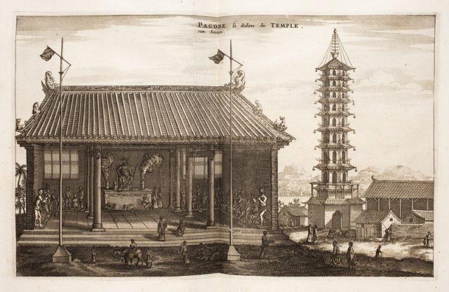 Bí ẩn tòa tháp Sứ ở Nam Kinh: Được mệnh danh là kỳ quan của Trung Quốc 2
