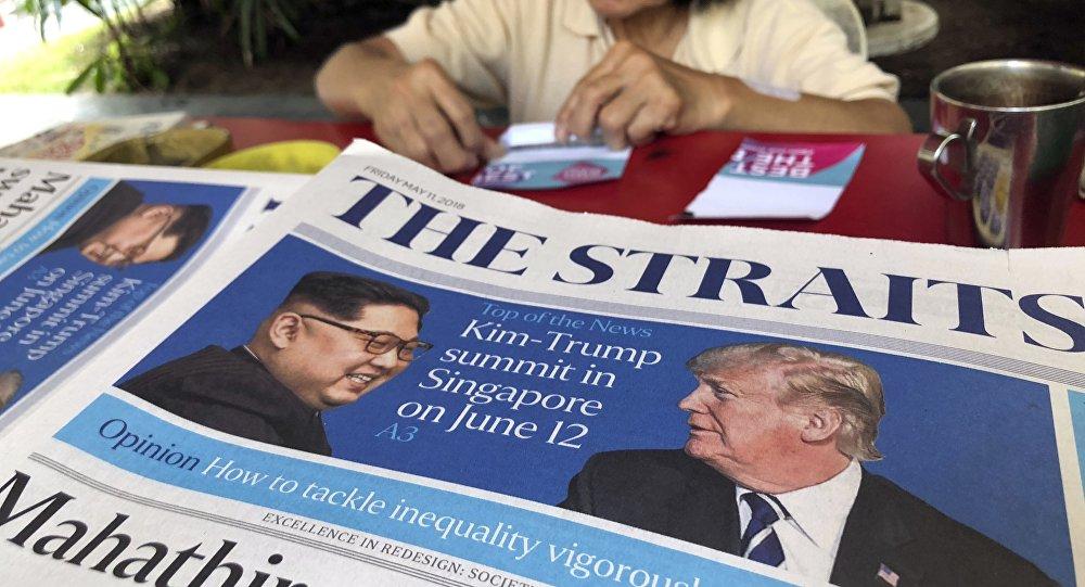 Tổng thống Trump cam kết gặp nhà lãnh đạo Triều Tiên Kim Jong-un 1