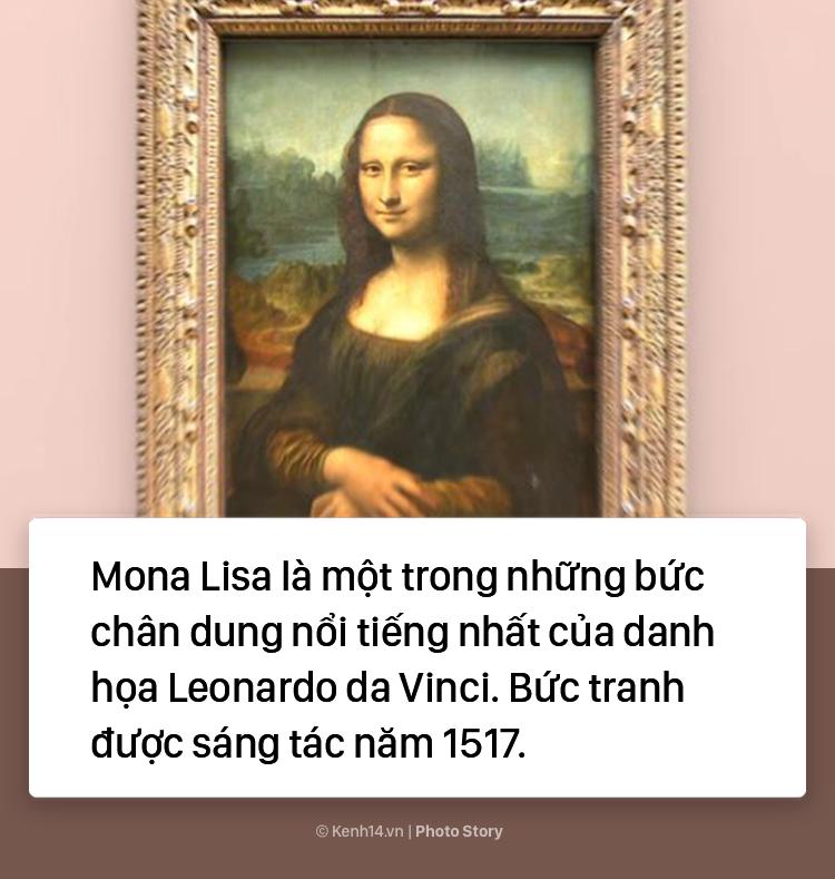 """Lý do không phải ai cũng biết khiến """"Nàng Mona Lisa"""" trở thành bức họa nổi tiếng thế giới 1"""