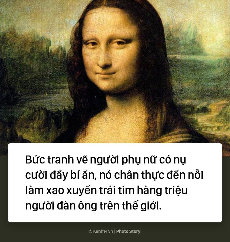 """Lý do không phải ai cũng biết khiến """"Nàng Mona Lisa"""" trở thành bức họa nổi tiếng thế giới 2"""