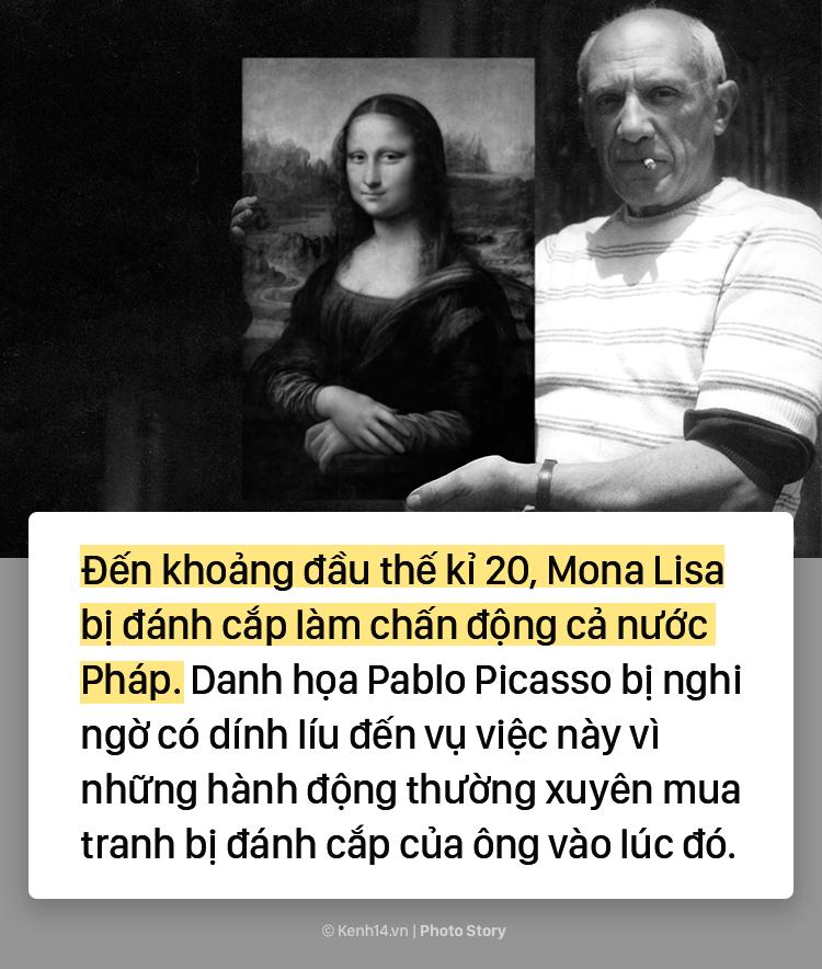 """Lý do không phải ai cũng biết khiến """"Nàng Mona Lisa"""" trở thành bức họa nổi tiếng thế giới 4"""