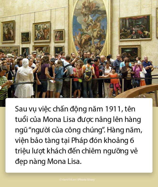 """Lý do không phải ai cũng biết khiến """"Nàng Mona Lisa"""" trở thành bức họa nổi tiếng thế giới 6"""