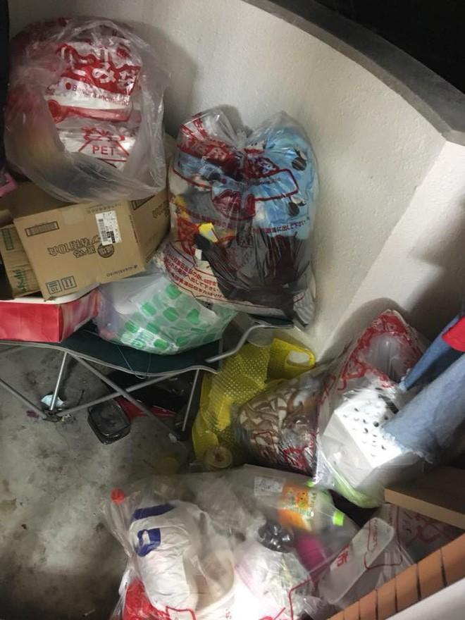 Nữ du học sinh ở Nhật thuê phòng trọ rồi bùng tiền, về nước để lại cả một núi rác khiến dân tình choáng váng 11