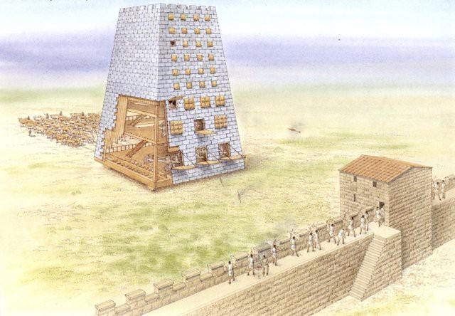 5 siêu vũ khí uy lực thời cổ đại: Cái số 2 cần tới 3.400 người để di chuyển 3