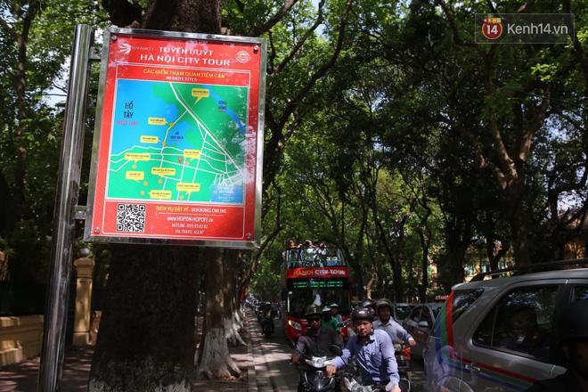 Chính thức khai trương tuyến xe buýt hai tầng mui trần đầu tiên ở Hà Nội: Giá vé 300k/4h 9