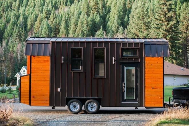 Ngôi nhà xe siêu nhỏ, dài chỉ 7m, diện tích 24m2, có thể giữ ấm cả trong mùa đông khắc nghiệt nhất 1
