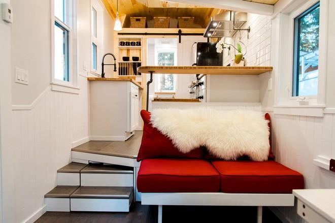 Ngôi nhà xe siêu nhỏ, dài chỉ 7m, diện tích 24m2, có thể giữ ấm cả trong mùa đông khắc nghiệt nhất 15