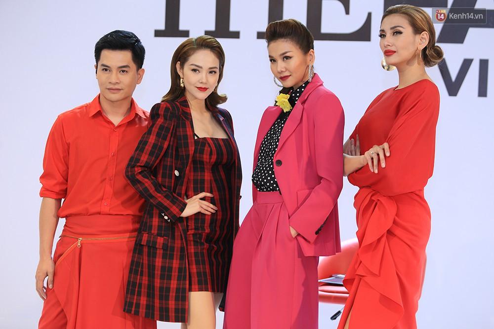 """Thanh Hằng đeo đồng hồ 2 tỷ, Võ Hoàng Yến """"ton sur ton"""" Nam Trung tại casting"""