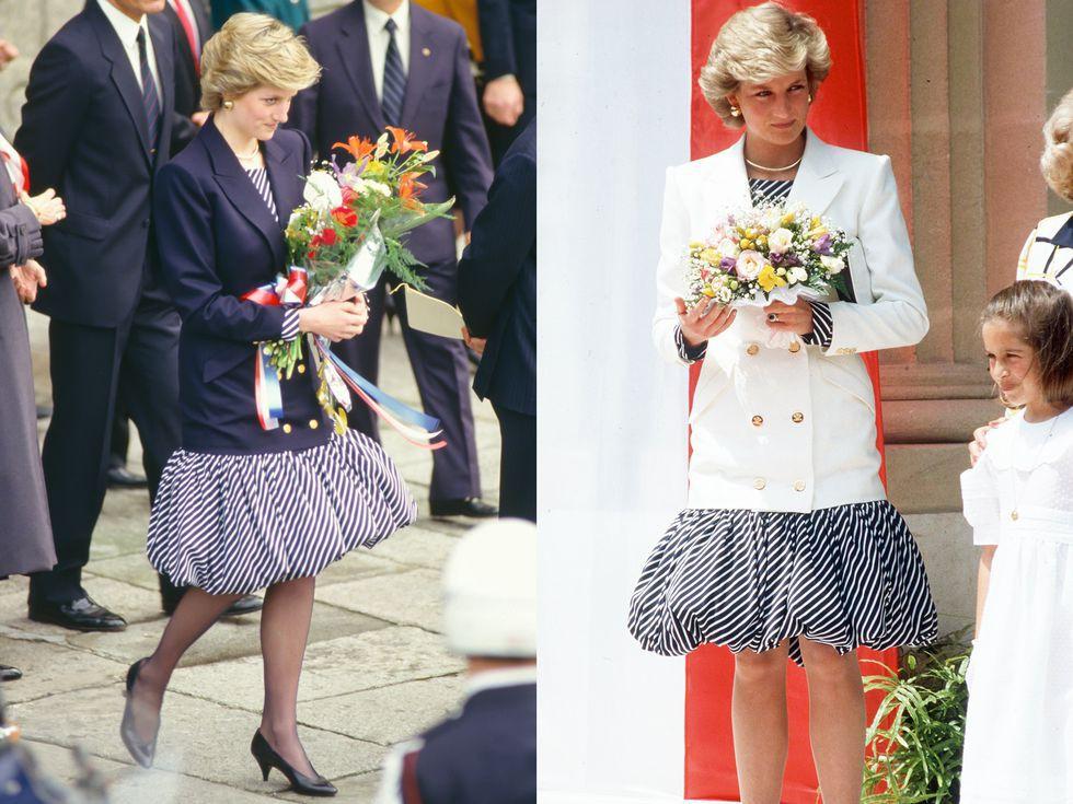 Ngắm 10 pha tái chế đồ cũ tuyệt đỉnh này mới thấy ngưỡng mộ con mắt thời trang tinh tế bậc thầy của Công nương Diana - Ảnh 3.