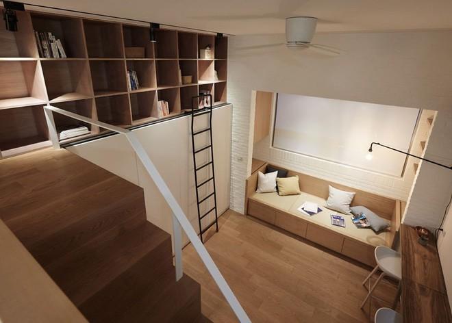 Sau khi xem những bức ảnh này, không ai có thể tin căn hộ đầy đủ tiện nghi quá đẹp, quá sang ấy lại chỉ có diện tích 22m2 - Ảnh 6.
