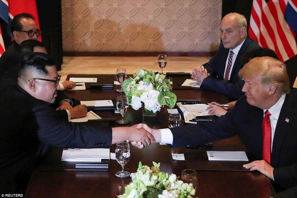 Tiết lộ hậu trường ít biết về hội nghị thượng đỉnh Mỹ - Triều 1